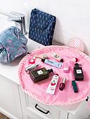 tanie Gadżety łazienkowe-zwierzęcy flamingo kosmetyczka profesjonalny sznurek makijaż sprawa kobiety podróżować makijaż organizer do przechowywania woreczek do mycia naczyń