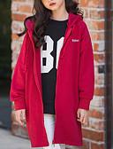 お買い得  女児 トップス-子供 女の子 ベーシック 日常 ソリッド パッチワーク 長袖 レギュラー コットン / ポリエステル トレンチコート ブラック