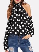 ieftine Bluză-Pentru femei Stil Nautic Tricou Buline