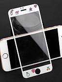 hesapli iPhone Kılıfları-AppleScreen ProtectoriPhone 8 Plus Tema Ön Ekran Koruyucu 1 parça Temperli Cam