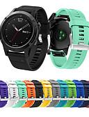 זול להקות Smartwatch-צפו בנד ל Fenix 5 / Garmin Quatix 5 / Forerunner 935 Garmin רצועת ספורט סיליקוןריצה רצועת יד לספורט