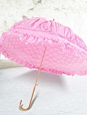 "cheap Prom Dresses-Hook Handle Wedding / Daily Umbrella Unique Wedding Décor / Umbrella / Sun Umbrella 33.5""(Approx.85cm)"