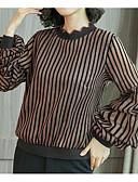ieftine Cămașă-Pentru femei Bluză Activ - Dungi