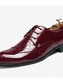 hesapli Paslanmaz Çelik-Erkek Ayakkabı Mikrofiber İlkbahar & Kış Oxford Modeli Günlük için Beyaz / Siyah / Kırmzı