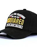 billige Hatter til herrer-Herre Grunnleggende Baseballcaps Ensfarget