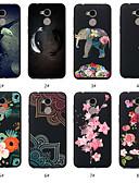 זול מגנים לטלפון-מגן עבור Huawei Huawei Honor 10 / Huawei Honor 9 Lite / Honor 7A תבנית כיסוי אחורי חיה / פרח רך TPU