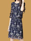 povoljno Ženski dvodijelni kostimi-Žene Vintage Set - Jednobojni Suknja