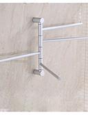 baratos Vestidos para Madrinhas-Barra para Toalha Moderna Alumínio 1 Pça. - Banho do hotel Barra de 4 toalhas