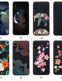 זול מגנים לטלפון-מגן עבור Xiaomi Redmi Note 5A / Xiaomi Redmi Note 5 Pro / Xiaomi Redmi 6 Pro תבנית כיסוי אחורי חיה / פרח רך TPU / Xiaomi Redmi Note 4X / Xiaomi Redmi Note 4