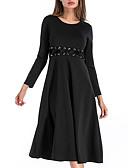 ieftine Rochii Damă-Pentru femei Vintage Mărime Plus Size Pantaloni Negru