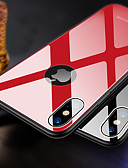 hesapli iPhone Kılıfları-Pouzdro Uyumluluk Apple iPhone XS / iPhone XR / iPhone XS Max Ultra İnce Arka Kapak Solid Sert TPU / Temperli Cam