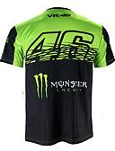 abordables Sweat-shirts Homme-motogp t-shirt équitation costume moto vr46 knight locy coton à manches courtes costume de course t-shirt
