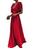お買い得  マキシドレス-女性用 ベーシック シース ドレス ミディ