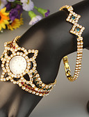 cheap Quartz Watches-FEIS Women's Bracelet Watch Quartz Gold Chronograph Analog-Digital Ladies Fashion - Golden