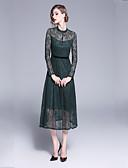 ieftine Romantic Lace-Pentru femei Elegant Pantaloni Dantelă Trifoi