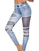 olcso Leggingek-Női Napi Alap Legging - Mértani Közepes csípő