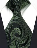 זול עניבות ועניבות פרפר לגברים-עניבת צווארון - פייסלי / סרוג עבודה / בסיסי בגדי ריקוד גברים