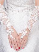 povoljno Vjenčani velovi-Čipka Do lakta Rukavica Rukavice S Aplikacije