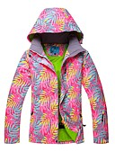 abordables Robes de Réception de Mariage-RIVIYELE Femme Veste de Ski Etanche Coupe Vent Chaud Ski Snowboard Sports d'hiver Polyester Chinlon Coton de l'espace Veste Coupe Vent Veste Hiver Veste Chaud Tenue de Ski