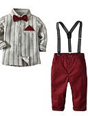 זול שמלות לתינוקות-סט של בגדים שרוול ארוך אחיד בסיסי בנים ילדים