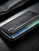 povoljno iPhone maske-Θήκη Za Huawei Huawei Mate 20 pro Novčanik / Utor za kartice / sa stalkom Korice Jednobojni Tvrdo PU koža