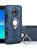olcso Mobiltelefon tokok-Case Kompatibilitás Motorola E4 Plus / E4 Ütésálló / Tartó gyűrű Fekete tok Páncél Kemény PC mert Moto E4 Plus / Moto E4