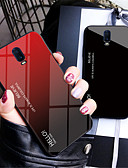 halpa Puhelimen kuoret-Etui Käyttötarkoitus OnePlus OnePlus 6 / One Plus 6T / One Plus 5 Peili Takakuori Color Gradient Kova Karkaistu lasi