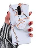 halpa Telineet ja jalustat-Etui Käyttötarkoitus Huawei Huawei Nova 3i / Huawei P20 / Huawei P20 Pro Tuella / IMD Takakuori Marble Pehmeä TPU
