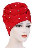 billige Damehatte-Dame Vintage / Fest / Ferie Blød Hat Ensfarvet
