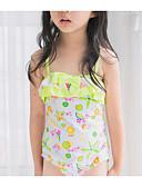 povoljno Majice za dječake-Djeca Djevojčice Sport Geometrijski oblici Pamuk Kupaći kostim Bijela