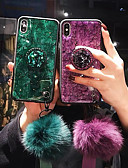 cheap iPhone Cases-Case For Apple iPhone XS / iPhone XR / iPhone XS Max Shockproof Back Cover Glitter Shine Soft TPU