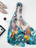 Недорогие Женские шарфы-Жен. Прямоугольный платок - С кисточками Геометрический принт