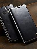 povoljno iPhone maske-Θήκη Za Samsung Galaxy Galaxy S10 Novčanik / Utor za kartice / sa stalkom Korice Jednobojni Tvrdo PU koža
