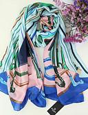 cheap Women's Scarves-Women's Rectangle Scarf - Geometric Tassel