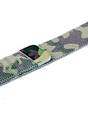 economico Cinturino in pelle-Acciaio inossidabile Cinturino per orologio  Cinghia per Apple Watch Series 4/3/2/1 Verde 23cm / 9 pollici 2.1cm / 0.83 Pollici