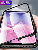 cheap Cellphone Case-Case For Samsung Galaxy Galaxy S10 / Galaxy S10 Plus Transparent Full Body Cases Solid Colored Hard Metal for S9 / S9 Plus / Galaxy S10