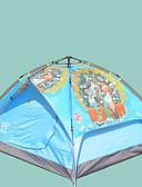povoljno Ženski džemperi-Sheng yuan 3 osobe Planinarski ruksaci Obiteljski kamp šatori Vanjski Vjetronepropusnost Otporno na kišu Prozračnosti Dvaput Slojeviti šator za kampiranje 2000-3000 mm za Plaža Kampiranje