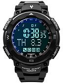 levne Vojenské hodinky-Pánské Vojenské hodinky japonština Japonské Quartz Pryž Černá 100 m Voděodolné Smart Bluetooth Digitální Módní Barevná - Šedá Jeden rok Životnost baterie