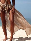 olcso Bikinik és fürdőruhák-Női Alap Narancssárga Világoszöld Khakizöld Szoknya Strandruha Fürdőruha - Egyszínű Egy méret Narancssárga