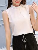 preiswerte Damen Tank-Shirts & kurze Jäckchen-Damen Solide Bluse