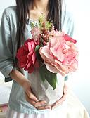 levne Svatební bolerka-Umělé květiny 1 Větev Klasické minimalistický styl Svatební kytice Hortenzie Pivoňky Věčné květy Květina na stůl