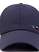 halpa Miesten hatut-Unisex Perus Pesäpallolippis-Yhtenäinen Polyesteri Tumman harmaa Laivaston sininen Vaaleanharmaa