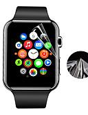 hesapli Akıllı Saat Ekran Koruyucuları-Ekran Koruyucu Uyumluluk Apple Watch Series 4 PET Yüksek Tanımlama (HD) / Ultra İnce 1 parça