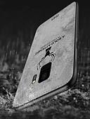 levne Pouzdra telefonu-Carcasă Pro Samsung Galaxy S9 Plus / S9 Nárazuvzdorné / Vytlačený vzor / Vzor Zadní kryt Jednobarevné / Zvíře Měkké TPU / Plátno pro S9 / S9 Plus / S8 Plus