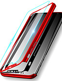 hesapli iPhone Kılıfları-Pouzdro Uyumluluk Apple iPhone XS / iPhone XR / iPhone XS Max Şoka Dayanıklı / Ultra İnce / Buzlu Tam Kaplama Kılıf Solid Sert PC