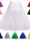 povoljno Stare svjetske nošnje-Princess Lolita 1950-te Žene Petticoat kratka baletska suknja Pod suknjom Krinolina Cosplay Pink / Ink Blue / Kristalne Do koljena Kostimi