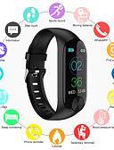 povoljno Ženske haljine-Indear Y10 Žene Smart Narukvica Android iOS Bluetooth Smart Sportske Vodootporno Heart Rate Monitor Mjerenje krvnog tlaka Brojač koraka Podsjetnik za pozive Mjerač aktivnosti Mjerač sna sjedeći