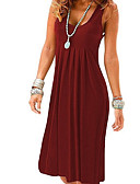 זול שמלות NYE-ברך, אורך, ברך, שמלה, יין, אור, כחול, fuchsia, מ, l, xl