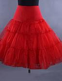 preiswerte Abendkleider-Ballett 50er Kostüm Klassische / Traditionelle Lolita Damen Minimantel Krinoline Weiß / Schwarz / Rot Vintage Cosplay Hochzeit Party Prinzessin