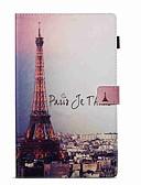 halpa Muu tapaus-Etui Käyttötarkoitus Amazon Kindle Fire hd 10(7th Generation, 2017 Release) Lomapkko / Korttikotelo / Tuella Suojakuori Eiffel-torni Kova PU-nahka